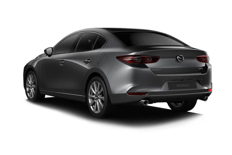 Mazda Mazda3 Saloon 2.0 e-SKYACTIV X MHEV 186PS GT Sport Tech 4Dr Auto [Start Stop] back view