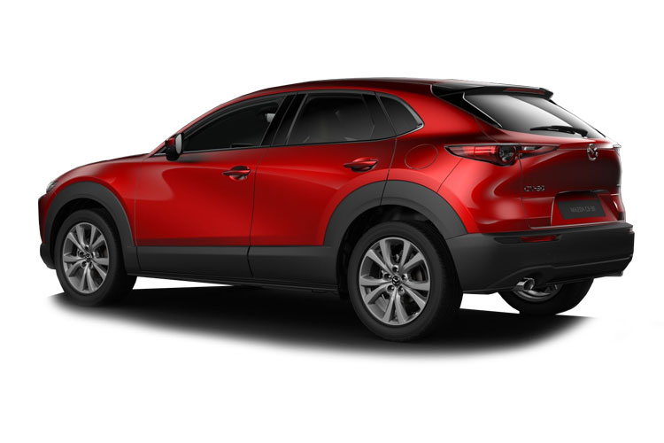 Mazda CX-30 SUV 2.0 e-SKYACTIV X MHEV 186PS Sport Lux 5Dr Manual [Start Stop] back view
