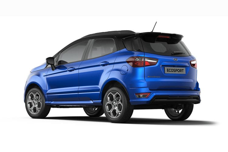 Ford EcoSport SUV 2WD 1.0 T EcoBoost 125PS ST-Line 5Dr Manual [Start Stop] back view