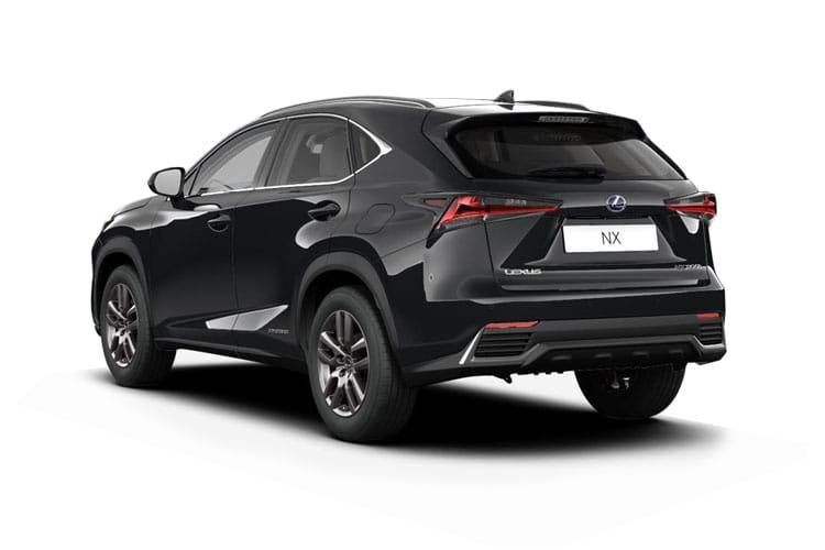 Lexus NX 300h SUV 4wd 2.5 h 197PS NX 5Dr E-CVT [Start Stop] [Premium Pan Roof] back view