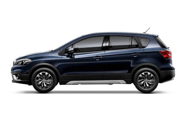 Suzuki S-Cross SUV ALLGRIP 1.4 Boosterjet MHEV 129PS SZ5 5Dr Auto [Start Stop] back view