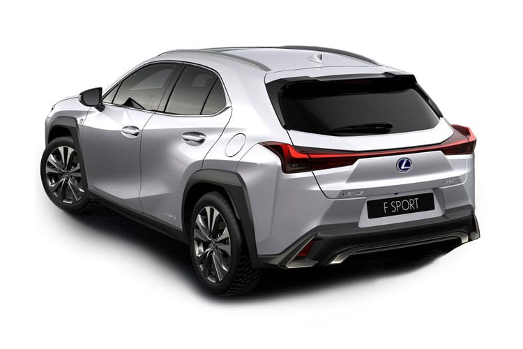 Lexus UX 250h SUV 2.0 h 184PS UX 5Dr E-CVT [Start Stop] [without Nav] back view