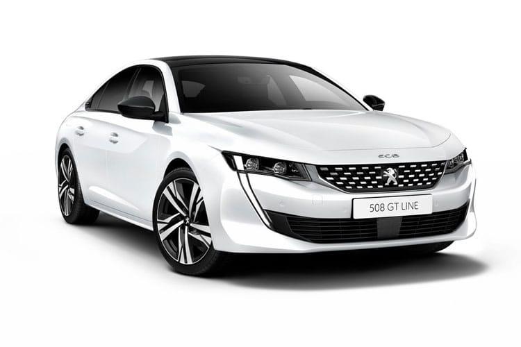 Peugeot 508 Fastback HYBRID 1.6 PHEV 11.8kWh 225PS GT 5Dr EAT8 [Start Stop] front view