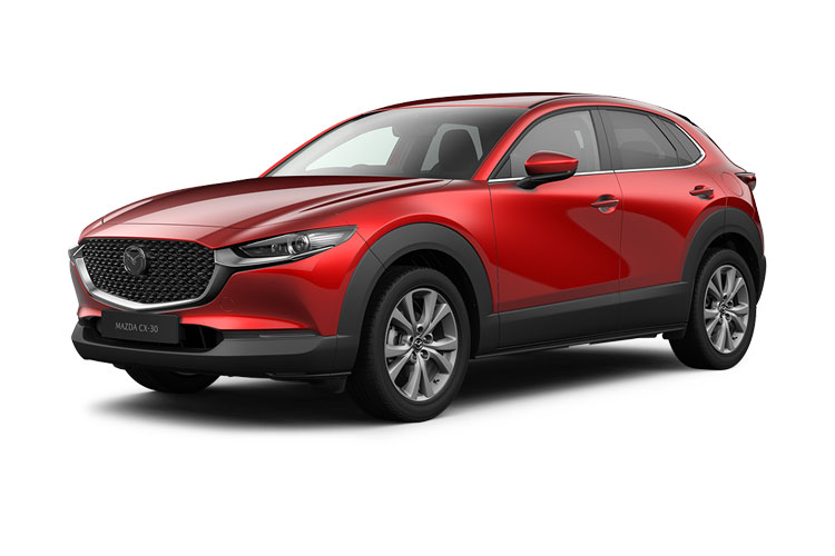 Mazda CX-30 SUV 2.0 e-SKYACTIV X MHEV 186PS Sport Lux 5Dr Manual [Start Stop] front view