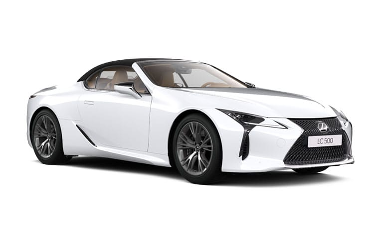 Lexus LC 500 Convertible 5.0 V8 464PS Sport Plus 2Dr Auto front view