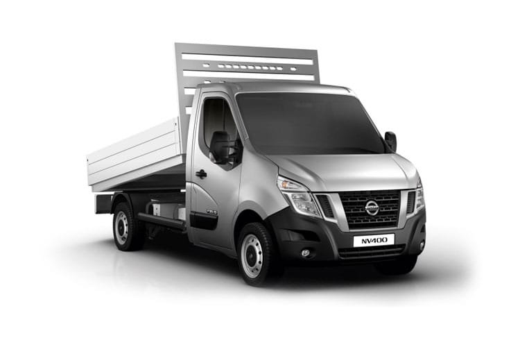Nissan NV400 L2 35 FWD 2.3 dCi FWD 135PS Acenta Tipper Manual front view
