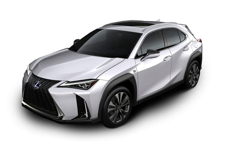Lexus UX 250h SUV 2.0 h 184PS UX 5Dr E-CVT [Start Stop] [without Nav] front view