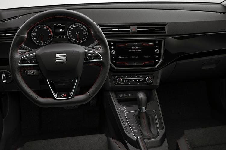 SEAT Ibiza Hatch 5Dr 1.0 TSI 110PS FR Sport 5Dr Manual [Start Stop] inside view
